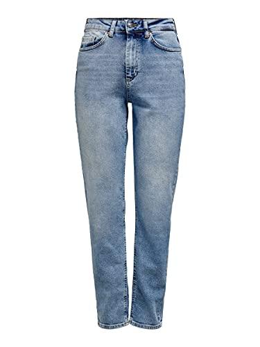 ONLY Damen Veneda Jeans, Blau (Light...