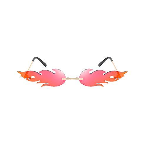 TOYANDONA Flamme Form Brillen Flamingo...