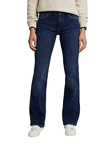 ESPRIT Damen Bootcut Superstretch Jeans,...