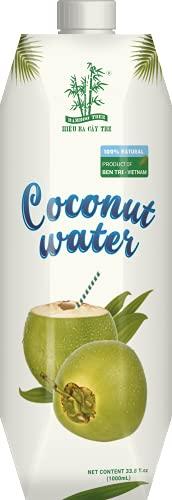 BAMBOO TREE - Kokosnuss Wasser, 12er...