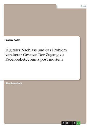 Digitaler Nachlass und das Problem...