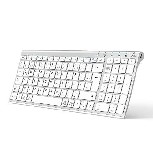 iClever BK10 Bluetooth Tastatur,...