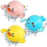Badespielzeug Baby, NewStyle 3 Baby Bad Spielzeug , badewannen Spielzeug Mechanik zum Aufziehen, Schimmel-frei Pool Spielzeug, Uhrwerk Ente Dichtung Schwimmen Badewanne Spielzeug Für Kleinkinder