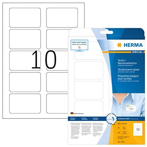 HERMA 4412 Namensetiketten DIN A4...