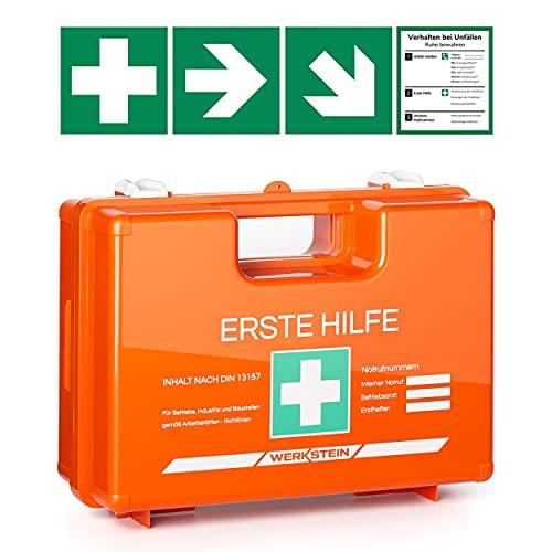 Erste Hilfe Kasten mit Inhalt nach DIN...