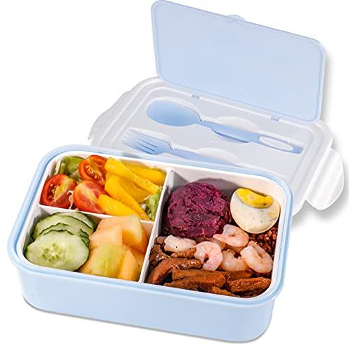 Lunchbox 1400ml Brotdose Kinder mit 3...