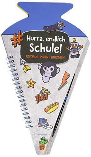 Schultüten-Kratzelbuch - Funny Patches...