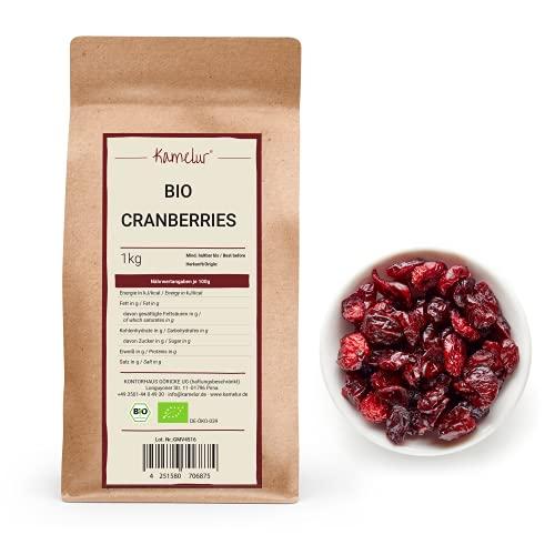 Kamelur 1kg BIO Cranberry getrocknet -...
