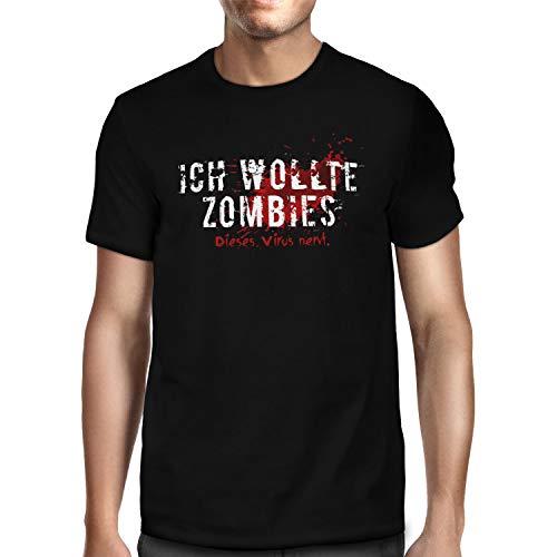 Fashionalarm Herren T-Shirt - Ich wollte...