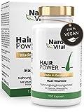 Haar-Vitamine - Hochdosiert mit Biotin, Zink, Selen, OPC, Hirse-Extrakt (reich an Silizium und Kieselerde) - 120 Kapseln (2 Monate) - Haar- & Bartwuchs