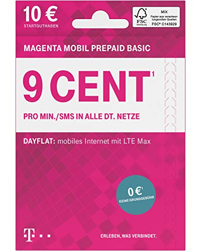 Telekom MagentaMobil Prepaid Basic...