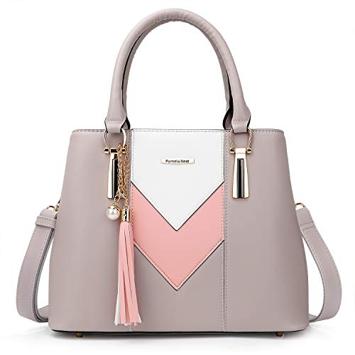 Pomelo Best Damen Handtasche Mehrfarbig...