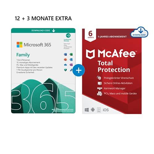 Microsoft 365 Family 12+3 Monate...