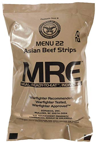 MREs (Meals Ready-to-Eat) Genuine U.S....