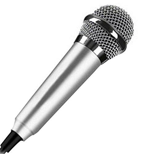 Mini 3,5 mm Kondensator-Mikrofon für...