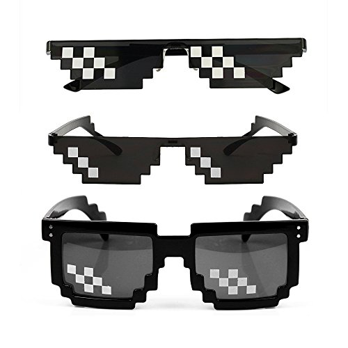 YSSHUI [3 Pack] Thug Life Sonnenbrille,...