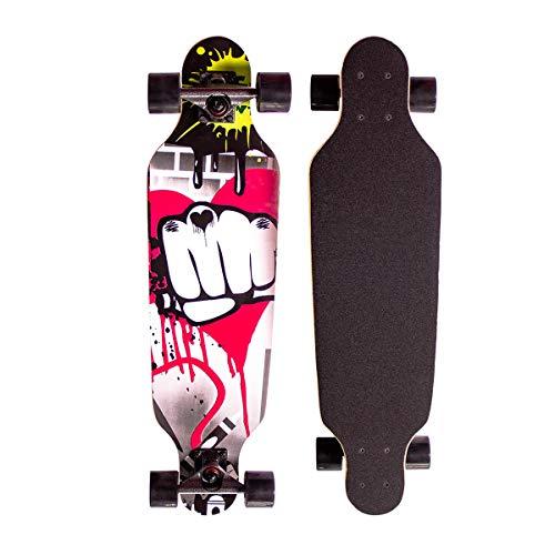 Sumeber Longboard Skateboard 31 Zoll for...
