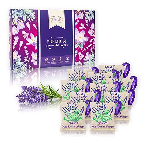 LADULA 10x Lavendelsäckchen mit...