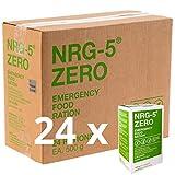 Notverpflegung 24x NRG-5 ZERO Glutenfrei Survival 500g Notration Notvorsorge   24x9 Riegel im Vorteilskarton Survivalnahrung Expeditions Grundausstattung wie EPA