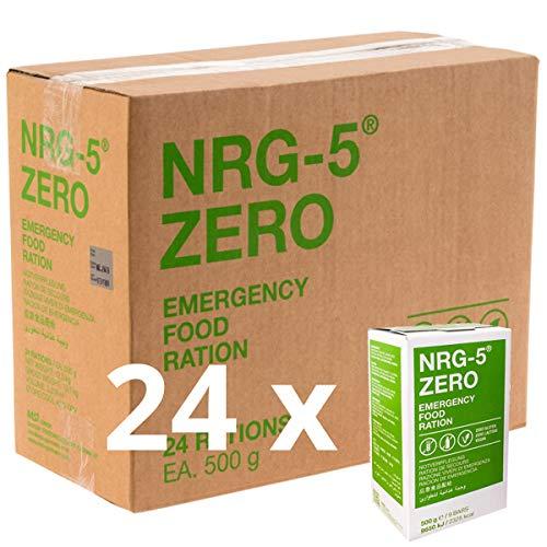 Notverpflegung 24x NRG-5 ZERO Glutenfrei...
