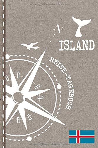 Island Reisetagebuch: Reise Tagebuch zum...