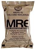 Militär US Army MRE NATO Lebensmittelverhältnis Notfallkampf Überlebens Camping Mahlzeit 1-24 - 5# Chicken Chunks, White, Cooked