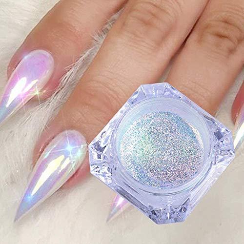 FILWO Holographic Nail Glitter Powder...