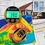 OCS.tec Digital Infrarotthermometer Terrarium Temperaturmesser Energieausweis Messung Wärmebild Reptilien Echsen Schlangen TMT-101 IR1