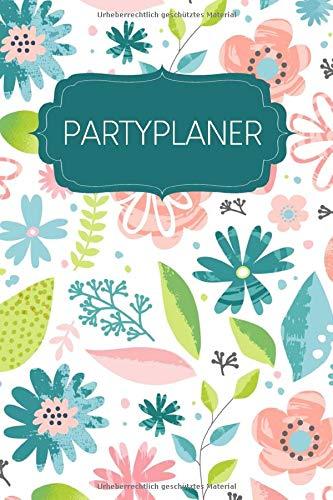 Partyplaner: Gepunktetes Notizbuch zum...