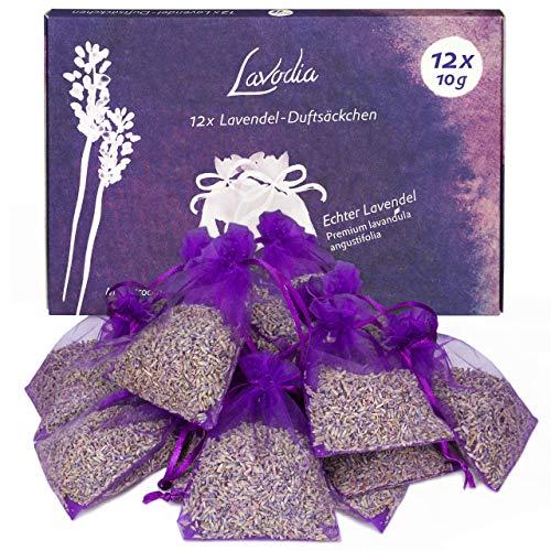 12x Lavendelsäckchen mit Premium...