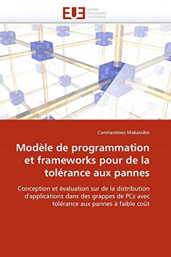 Modèle de programmation et frameworks...