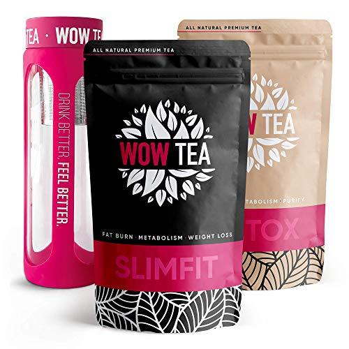 WOW TEA Cleanse Tee Set: Detox 21 Tage...