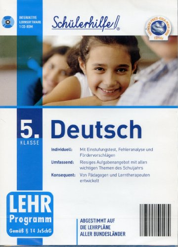 Schülerhilfe! ~ Deutsch ~ Klasse 5. ~...