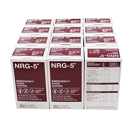 NRG5 12 x 500 g Notfallnahrung, je á 9...