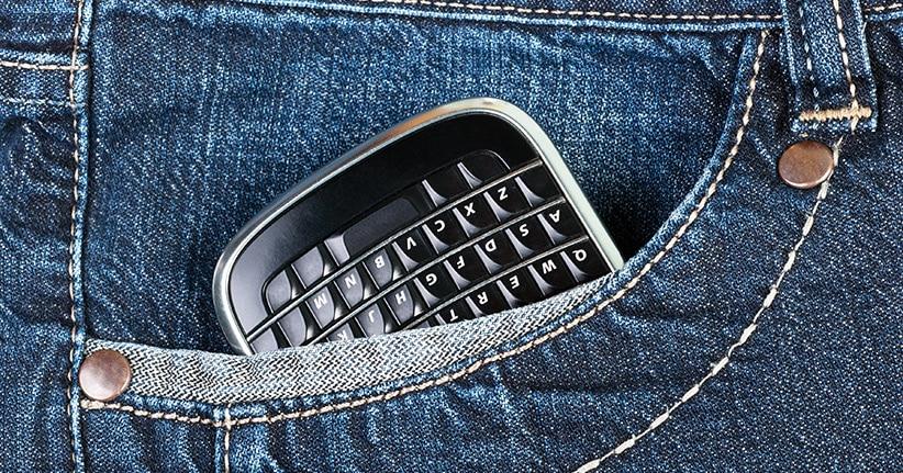Das #Blackberry #KEYone - Hardware für die Tastatur