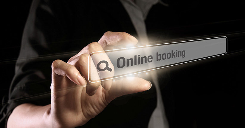 What should be considered when booking online?