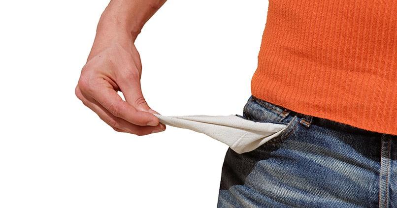 Immer mehr Menschen stehen vor dem finanziellen Ruin