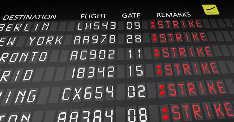 Pilotenstreik – Welche Rechte haben Fluggäste?