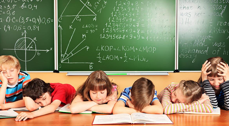 Eltern klagen über zu viel Schulstress ihrer Kinder