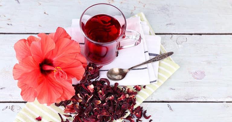 Hibiskusblütentee - ein Mittel gegen Bluthochdruck