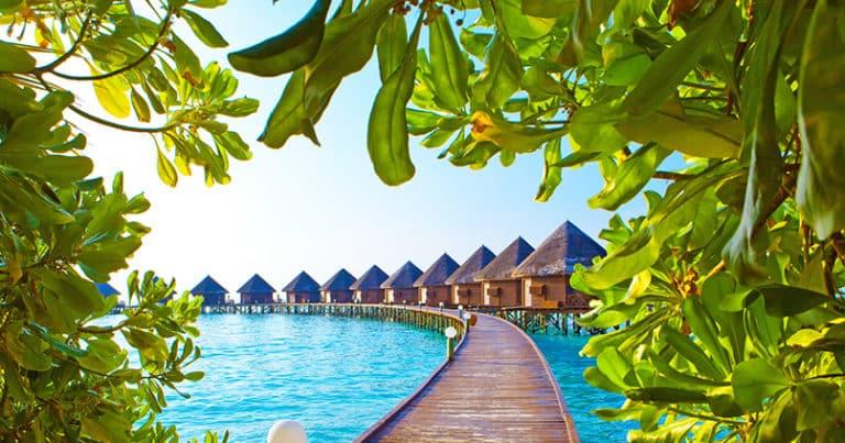 Wann ist die beste Reisezeit für die Malediven?