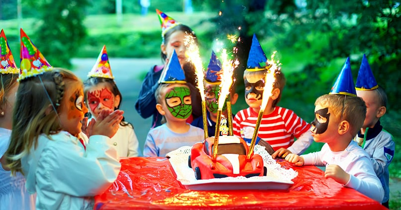 Einzigartige Kinderfeste feiern