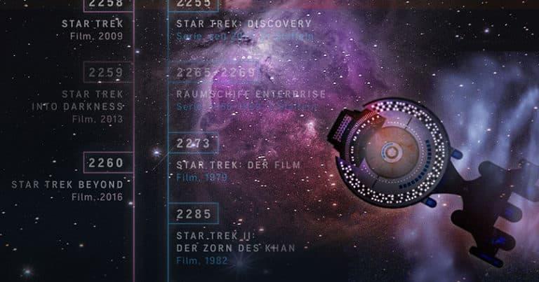 Star Trek - Unendliche Weiten von Raumschiff Enterprise bis Picard
