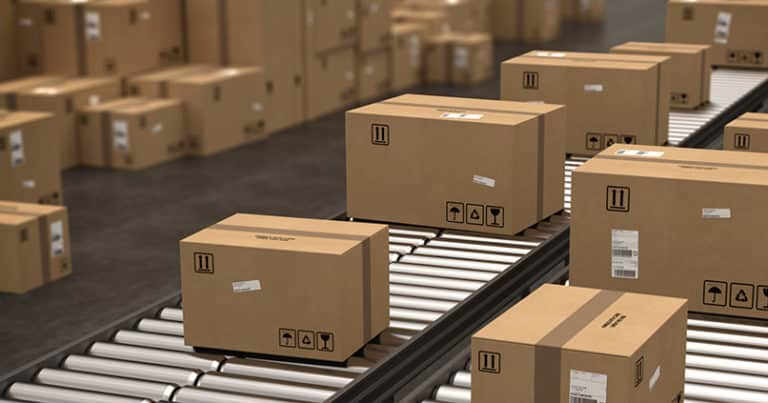 Online Handel und die treibende Kraft im Pakethandel