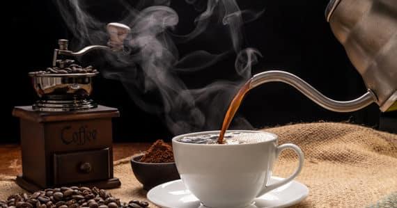 Kann zu heißer Kaffee krank machen?