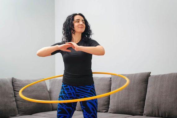 Hula-Hoop - Abnehmen und die Muskeln trainieren