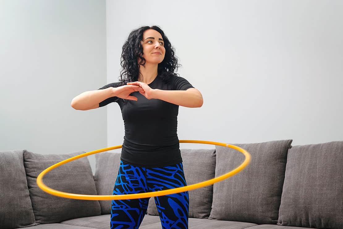 Hula-Hoop – Abnehmen und die Muskeln trainieren