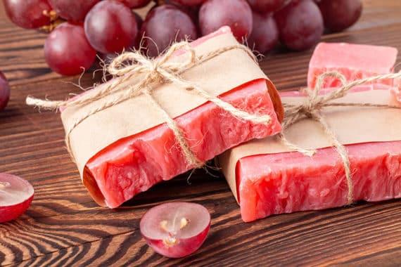 Seife aus Traubenkernöl einfach selber machen