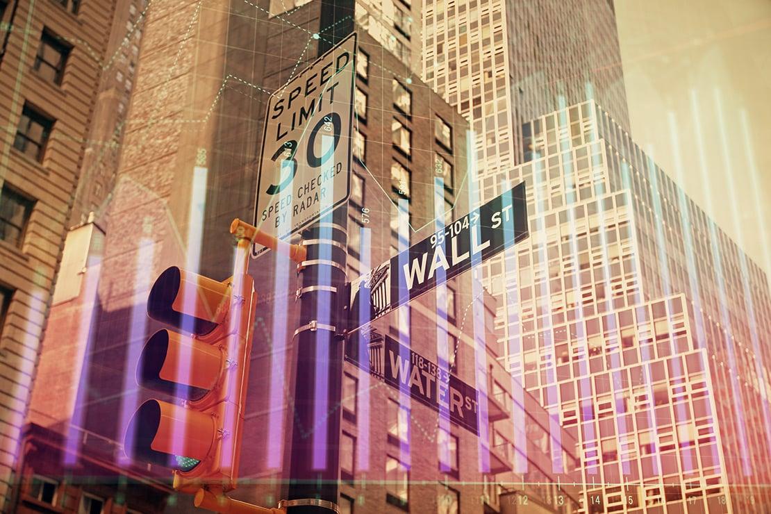 Alles wartet auf die Wall Street