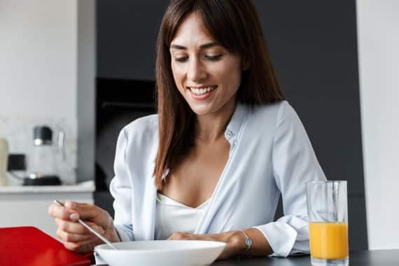 Bewusst frühstücken - gesund abnehmen